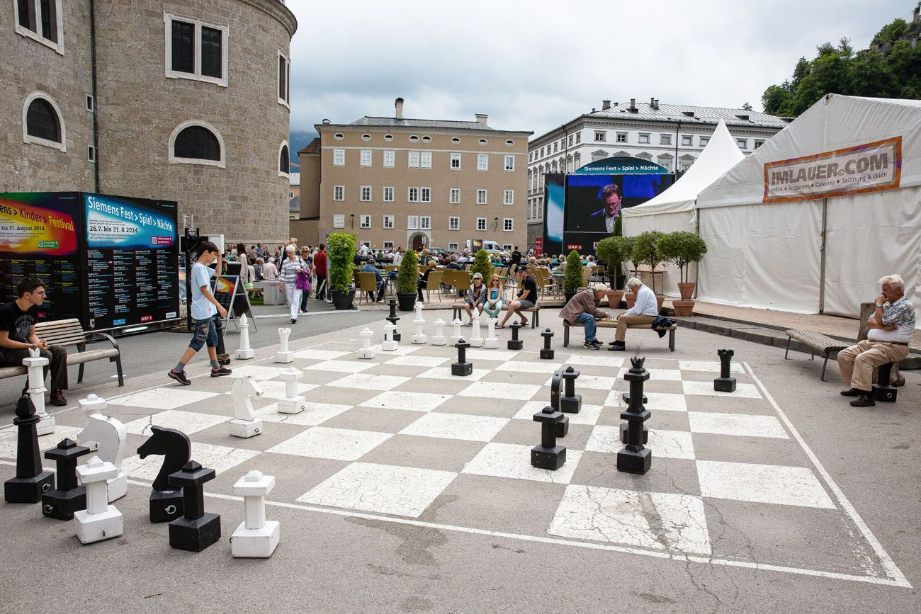 Chess in Salzburg