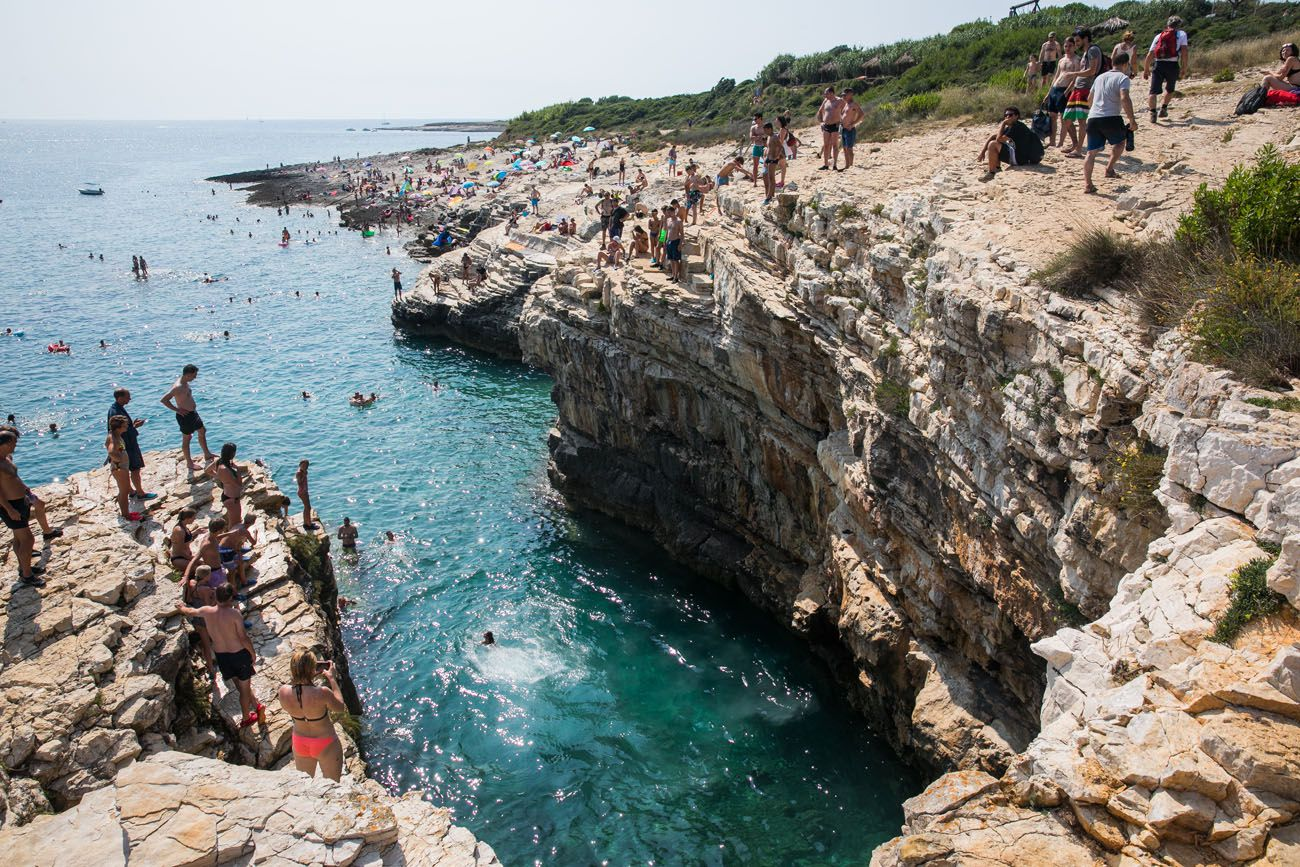 Cliff Diving Croatia