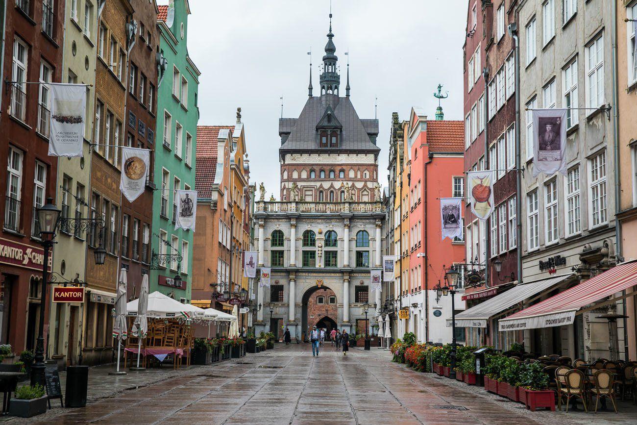 Dlugi Targ Gdansk