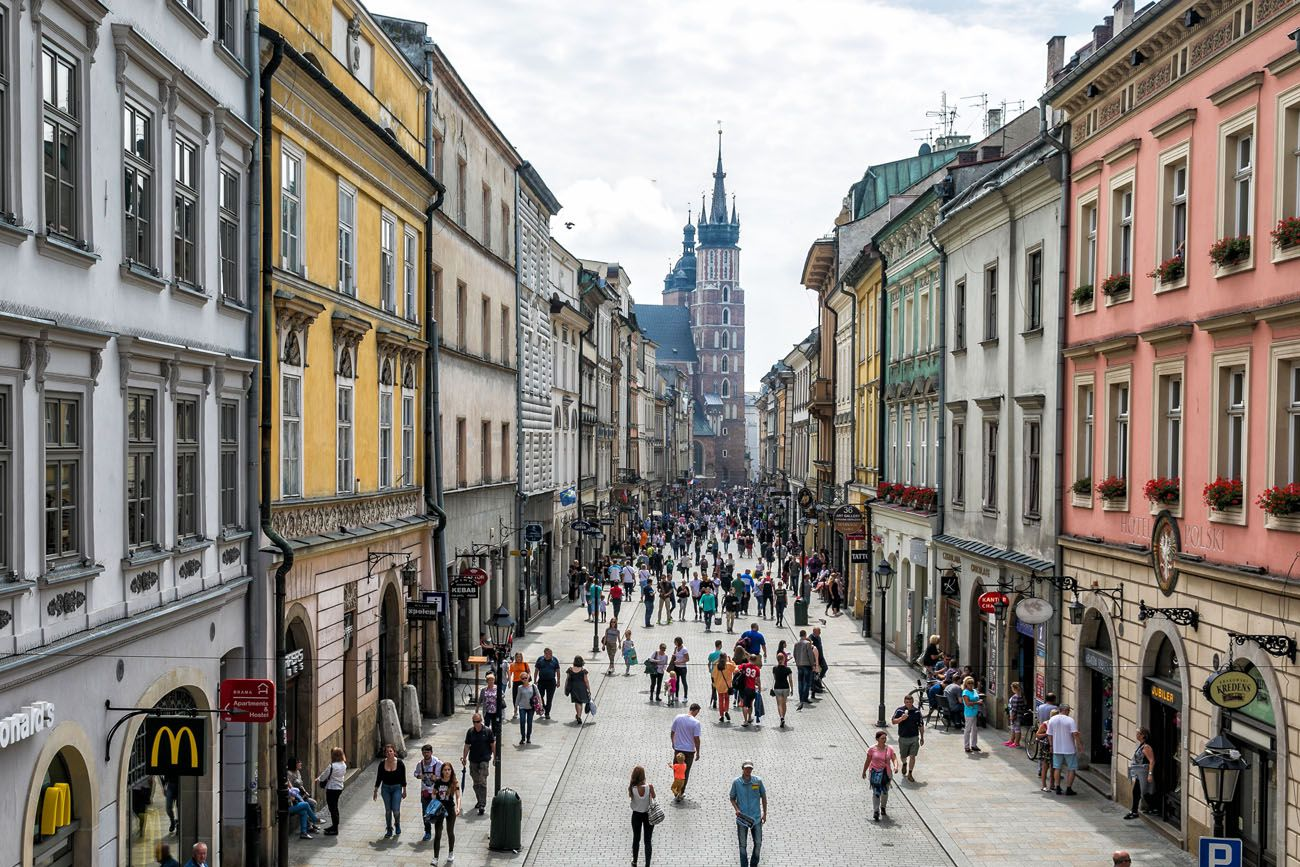 Florianska Street Krakow