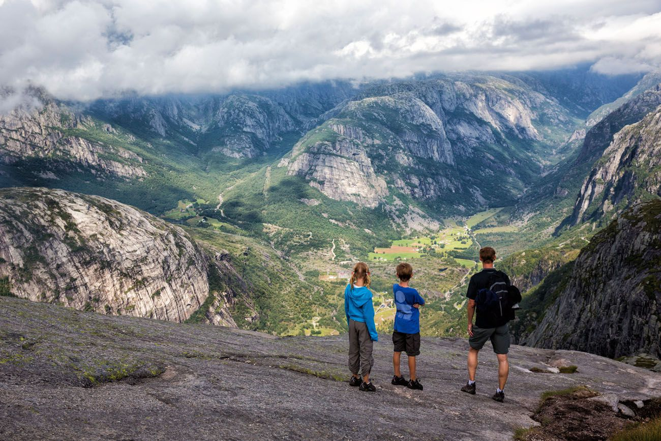 Hiking Norway with Kids
