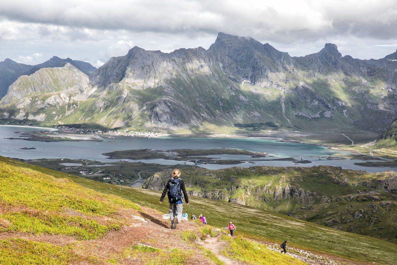 Hiking Ryten