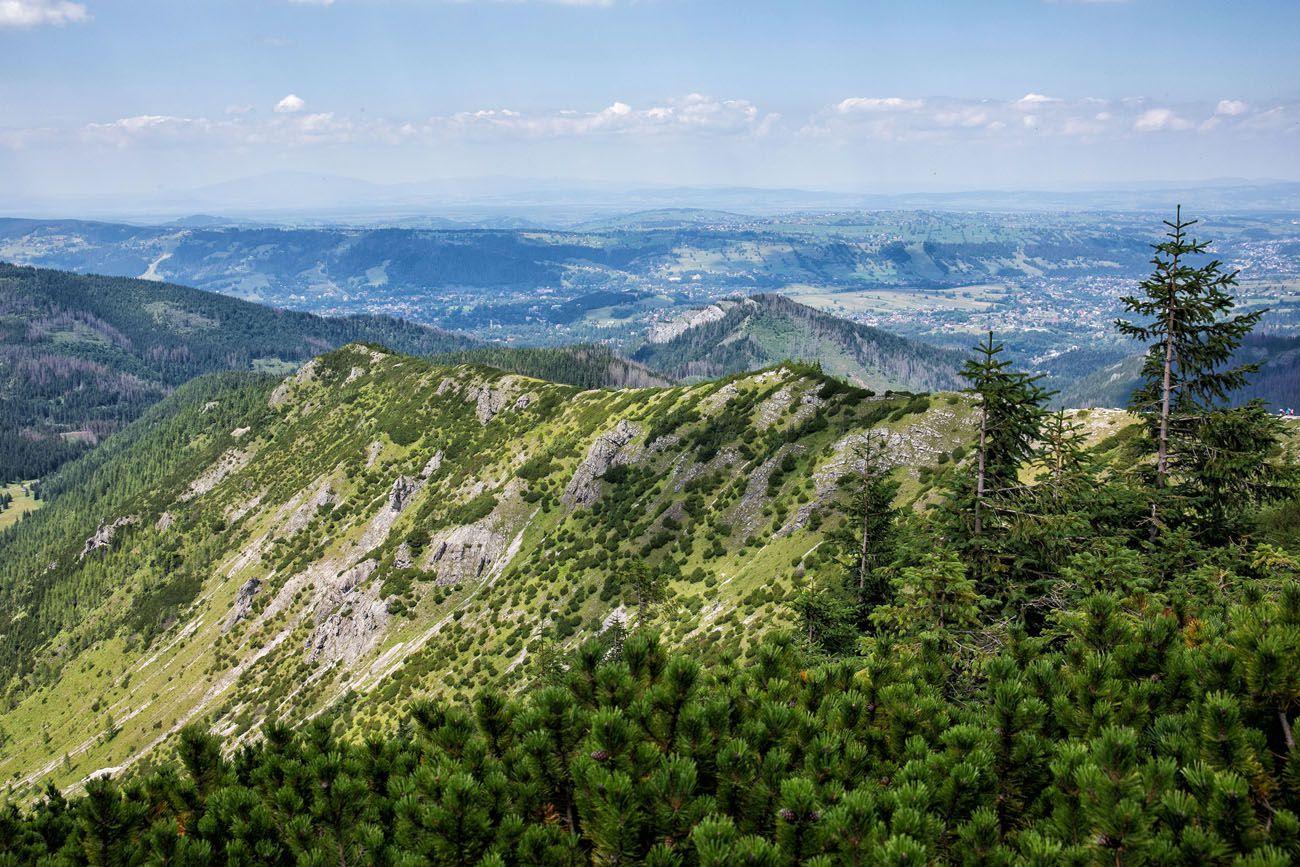 Hiking from Zakopane
