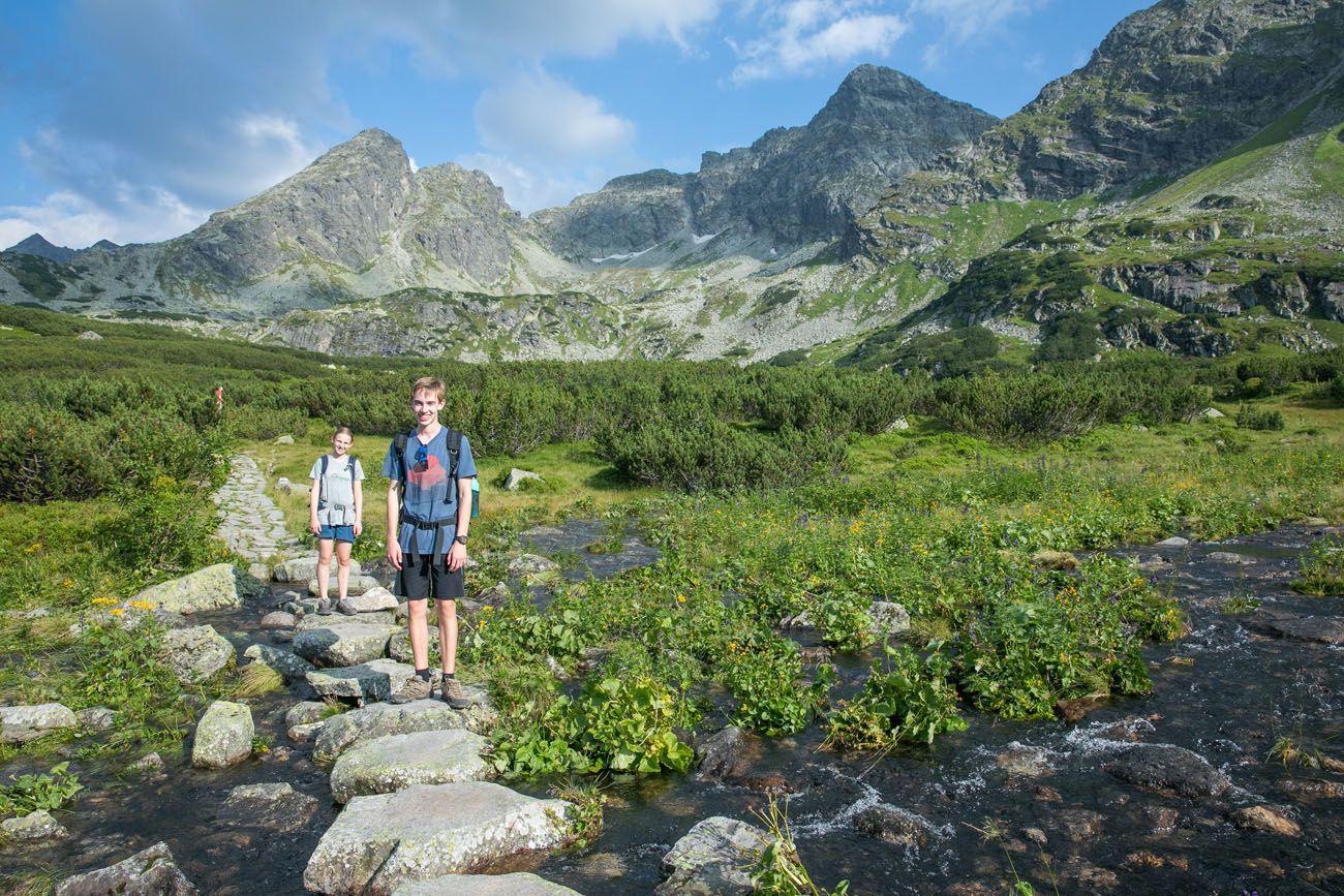 Hiking the Tatras