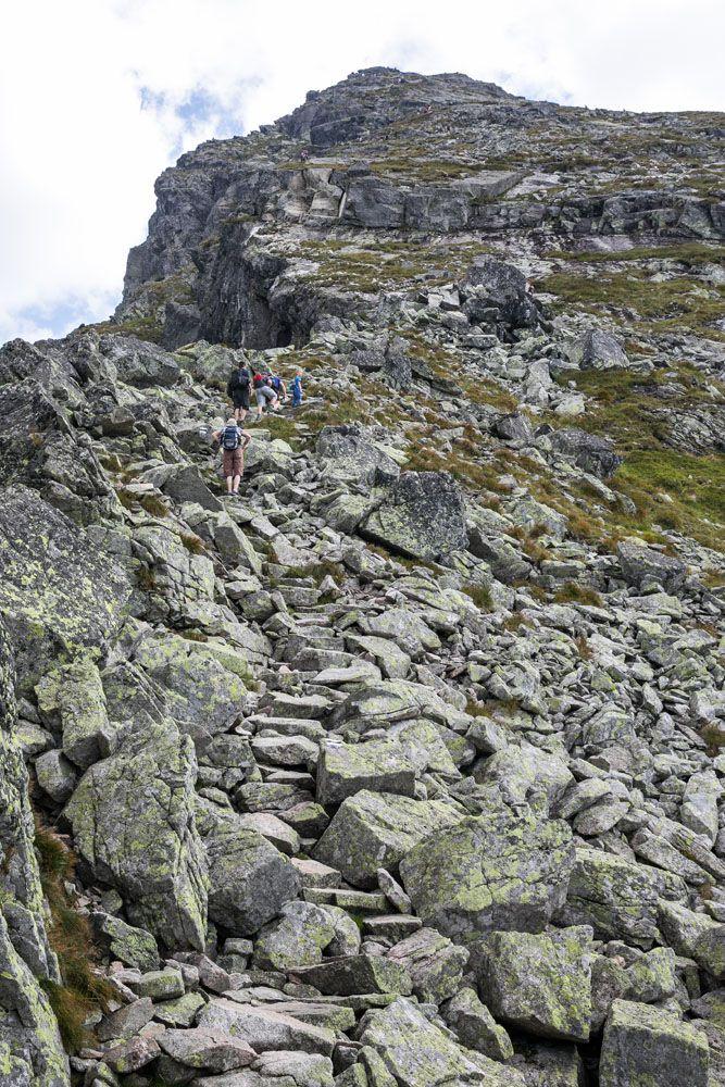 Koscielec Climb