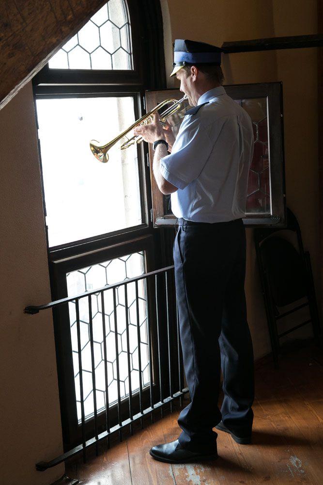 Krakow Trumpet Player