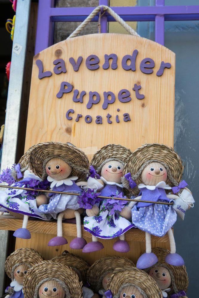 Lavendar Puppet