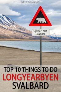 Longyearbyen Svalbard To Do List
