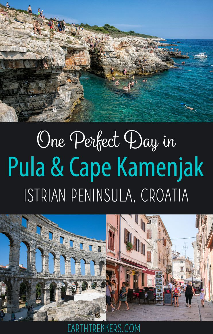 One Day in Pula Cape Kamenjak Istria Croatia