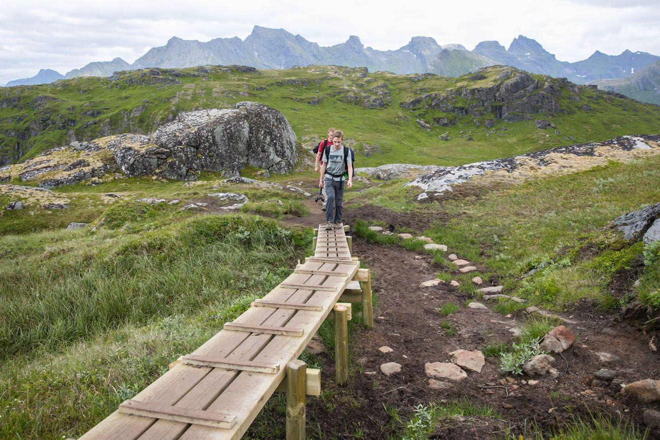 Ryten Hike Boardwalks