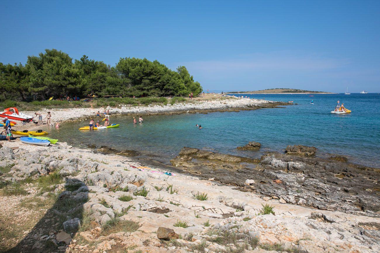 Skoljic Beach Kamenjak
