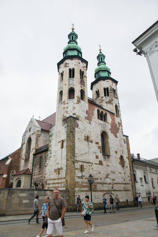 St Andrew Church Krakow