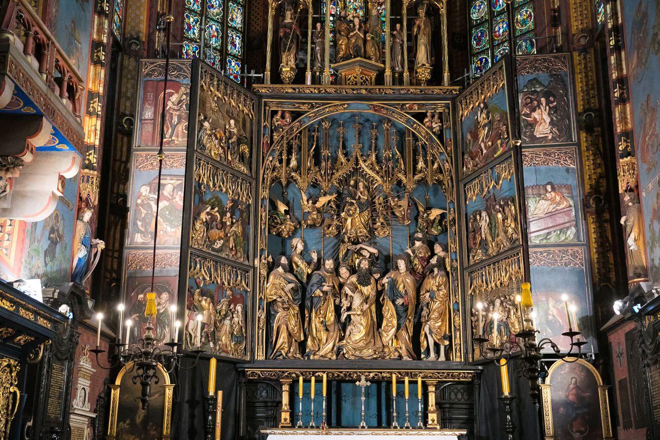 St Mary Basilica Altar
