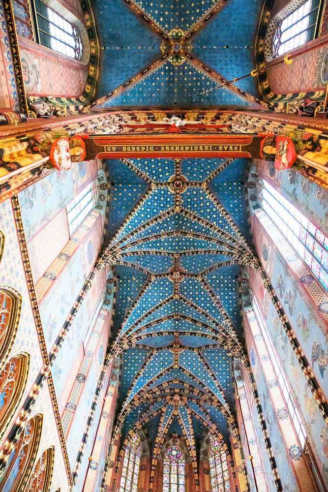 St Marys Basilica Ceiling
