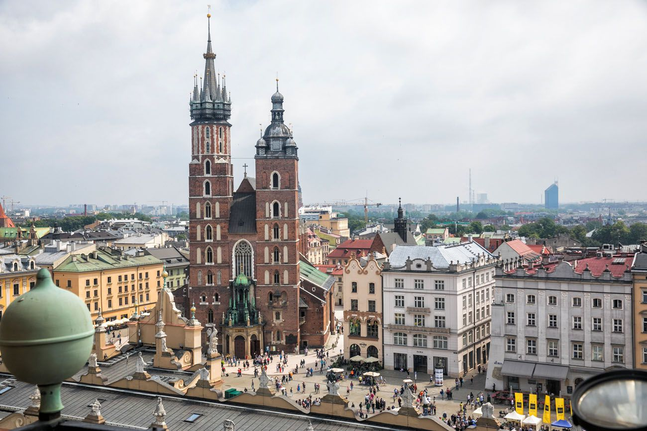 Town Hall Tower View
