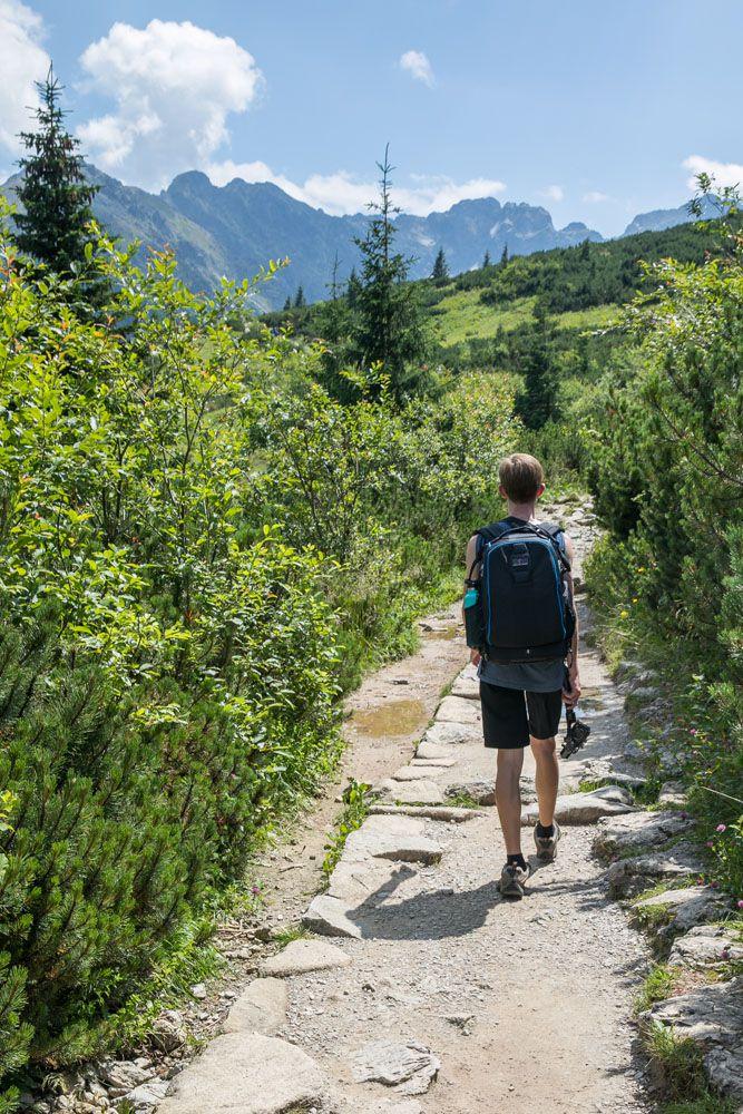Tyler Hiking