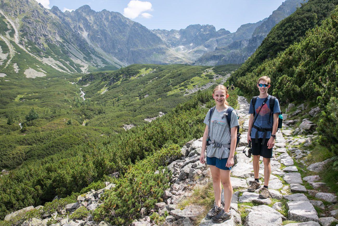 Tyler and Kara Polish Tatras