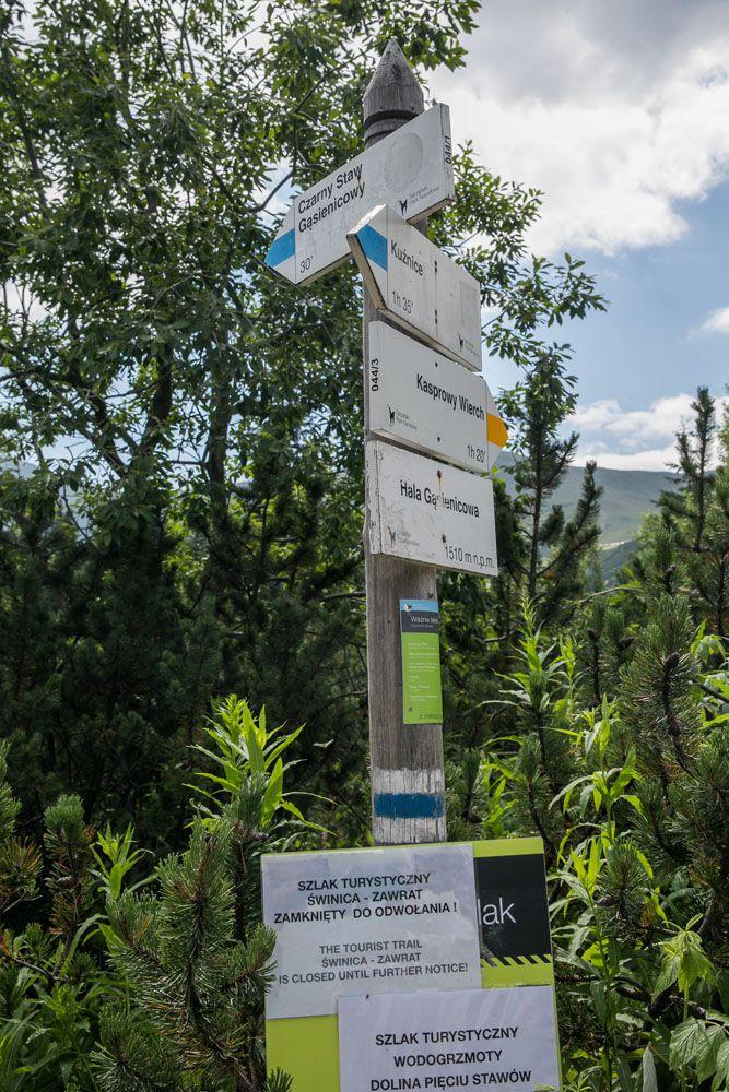 Zakopane Trail Markers