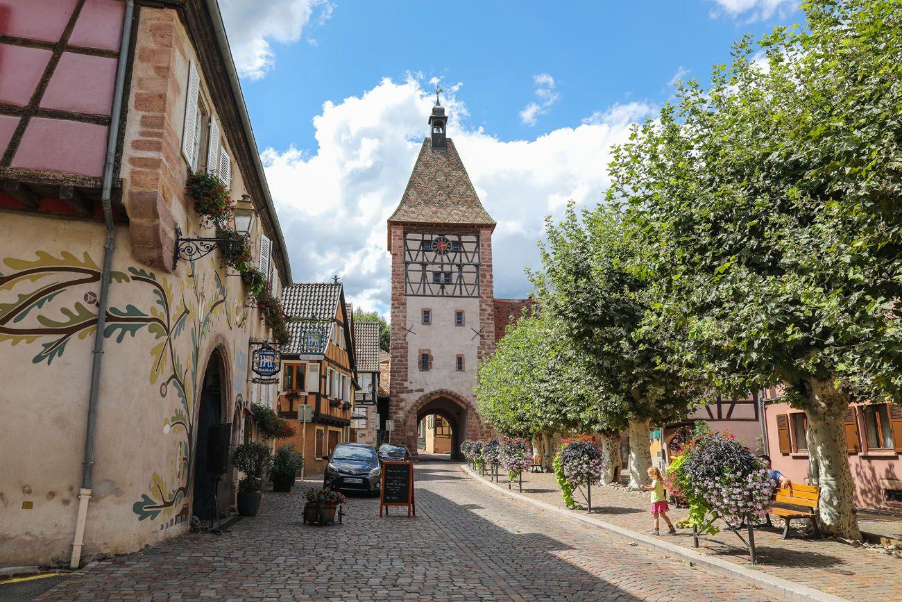 Bergheim Alsace Wine Route