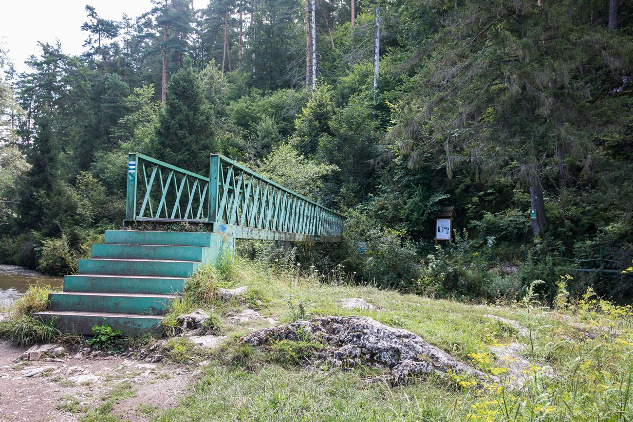 Bridge at start of trail