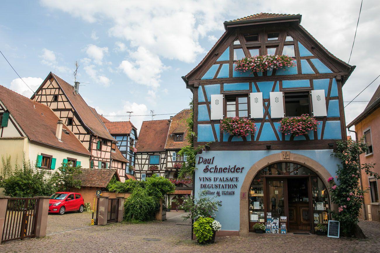 Eguisheim in August