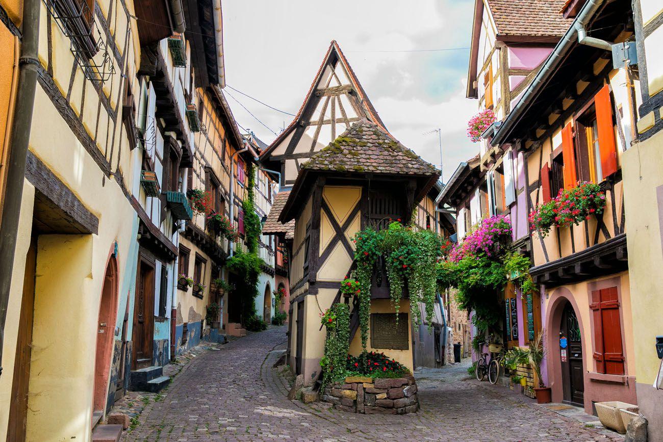 Eguisheim Alsace Wine Route
