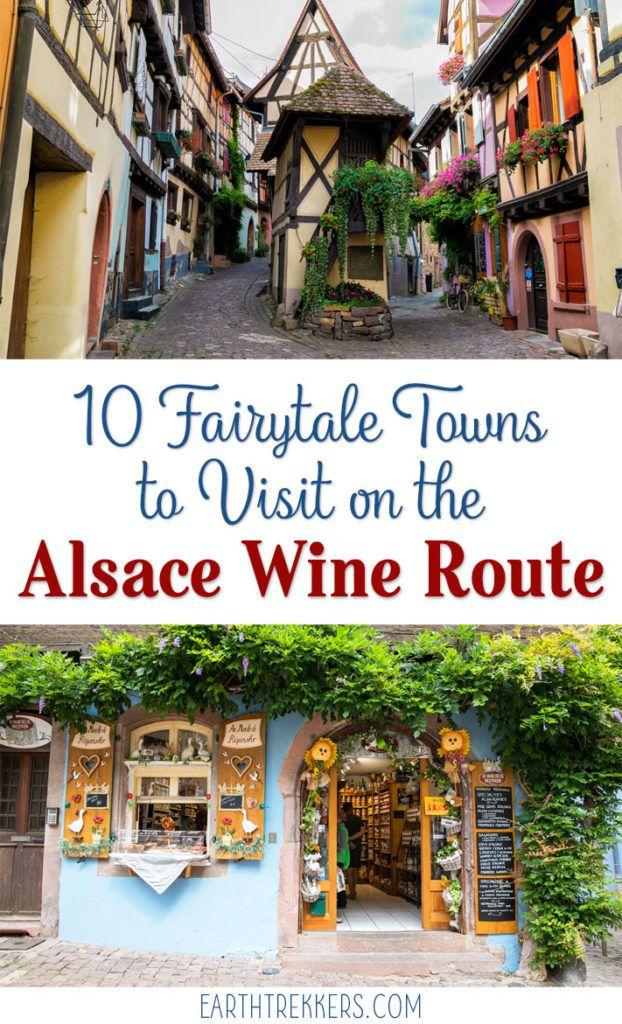 Fairytale Towns Alsace France
