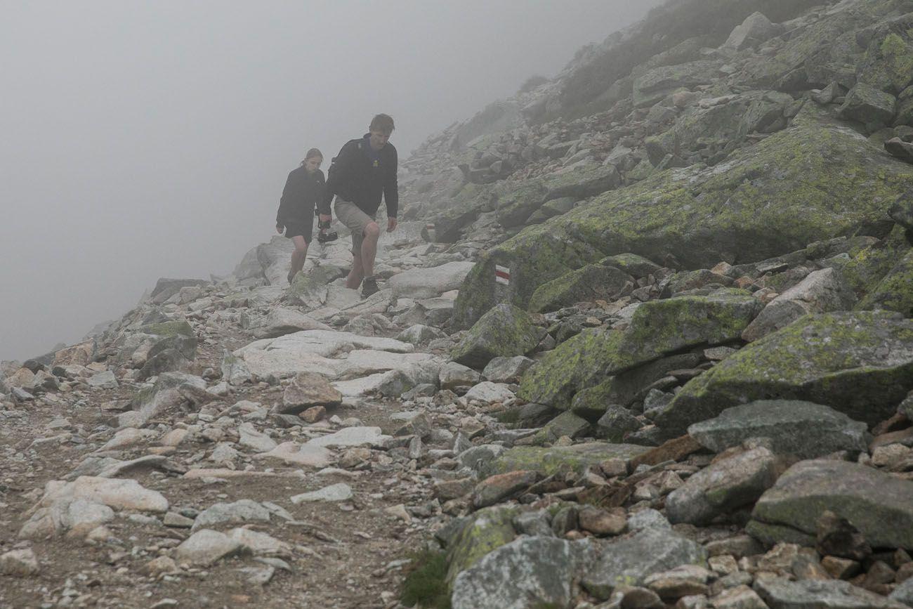 Final Rysy Climb