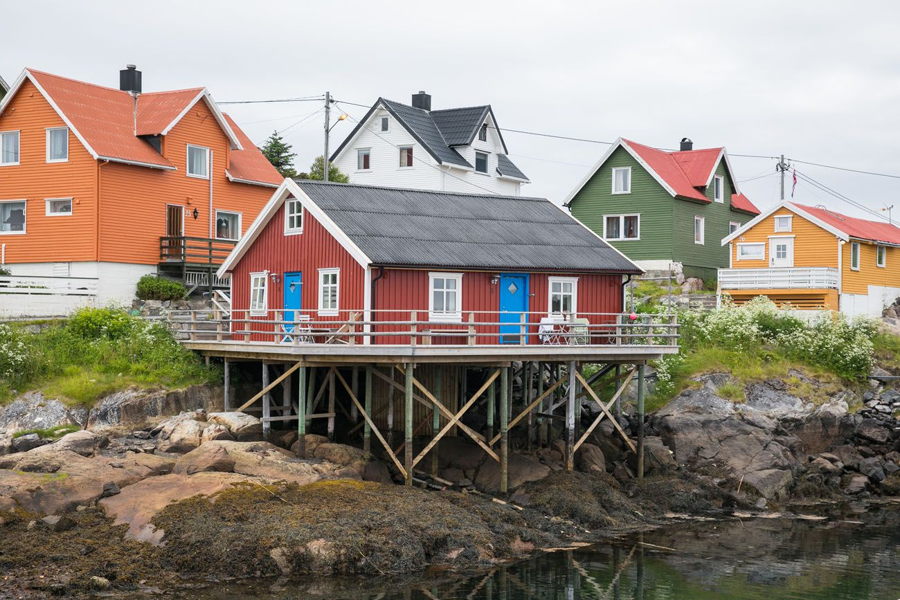 Henningsvaer northern Norway itinerary
