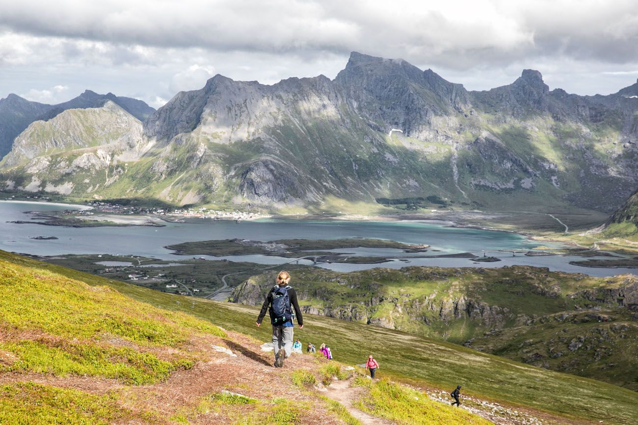 Hiking Lofoten Islands