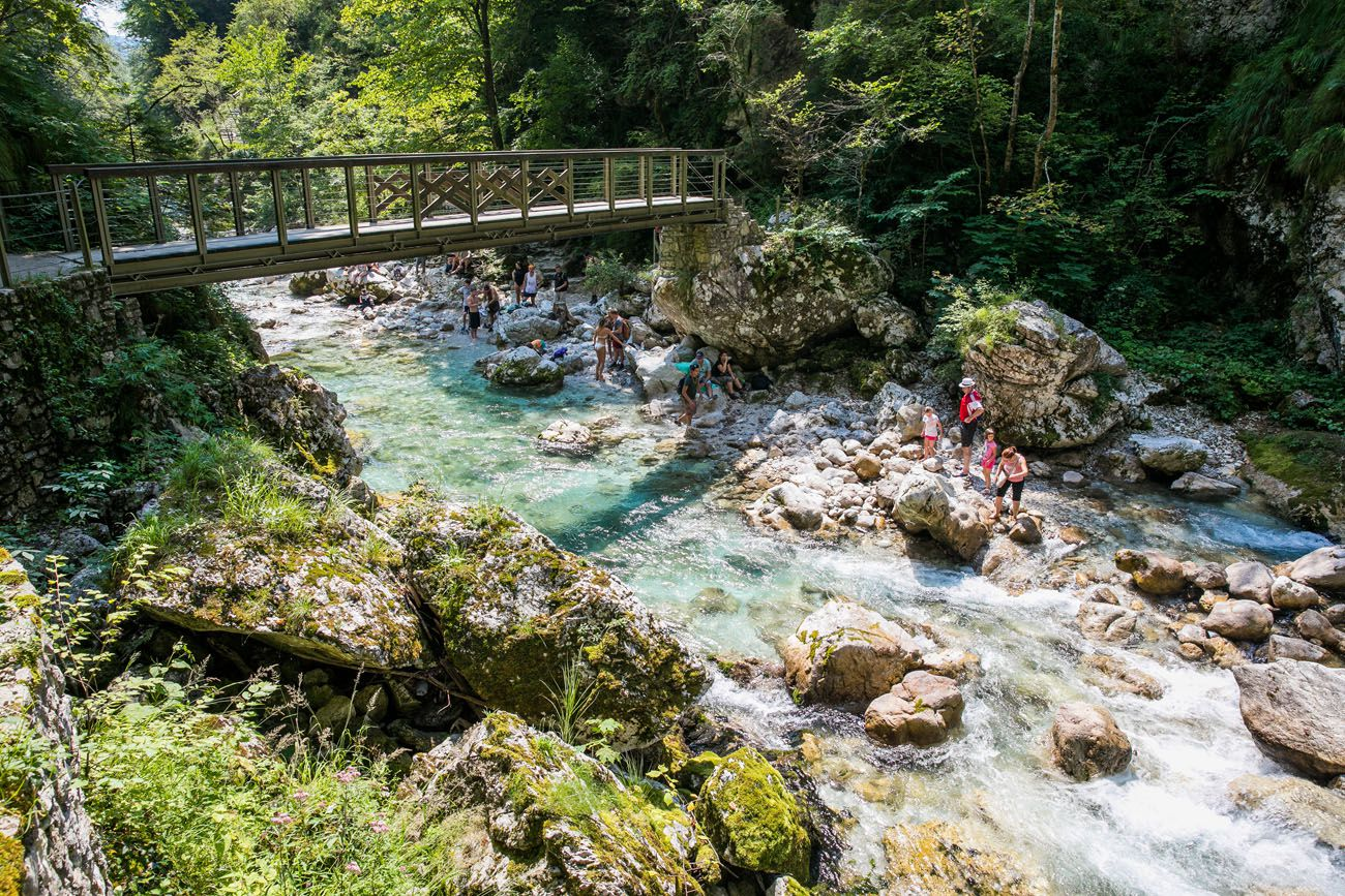 How to Visit Tolmin Gorge