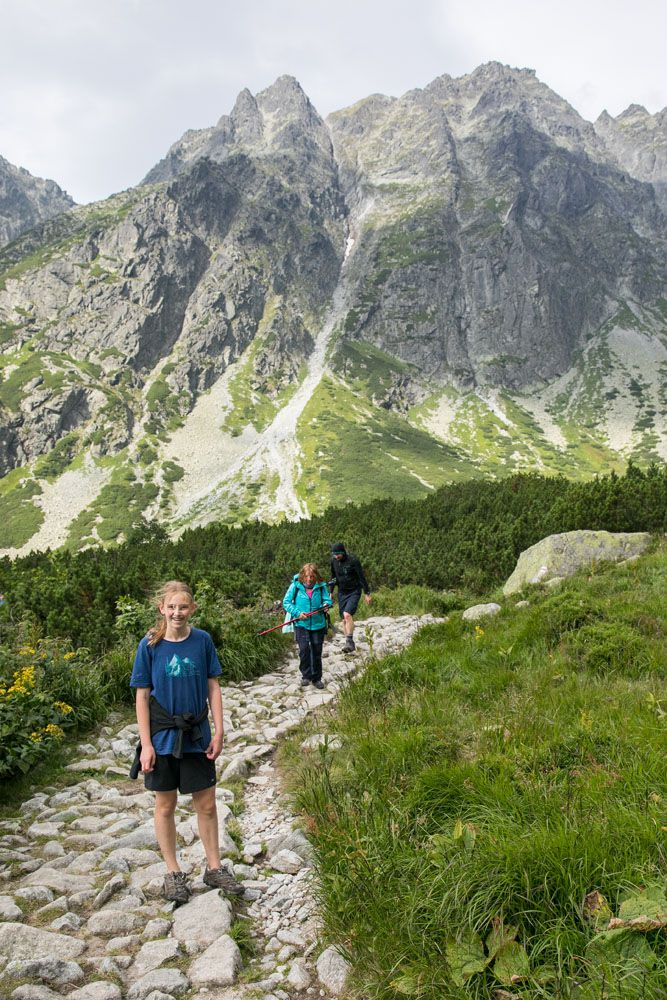 Kara in the Tatras