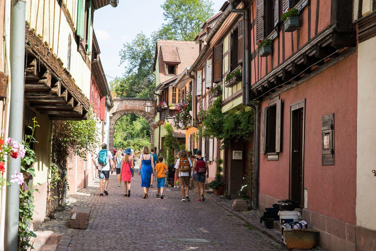 Kaysersberg Street Alsace Wine Route