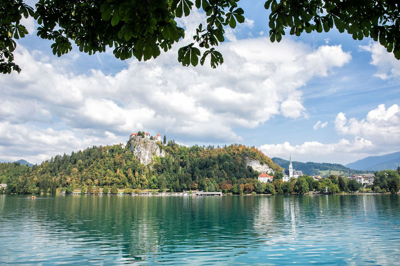Lake Bled in July