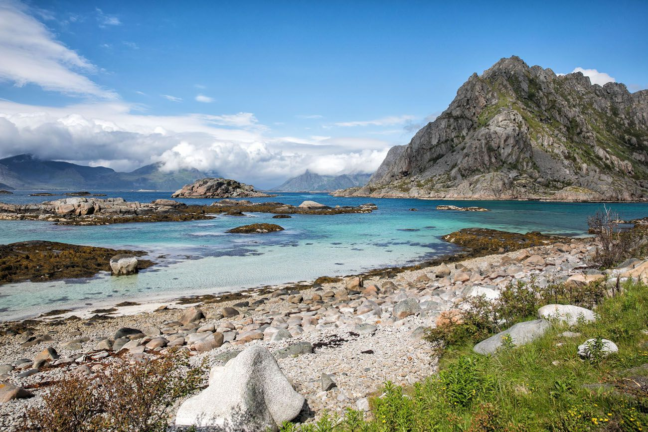 Lofoten Islands in July