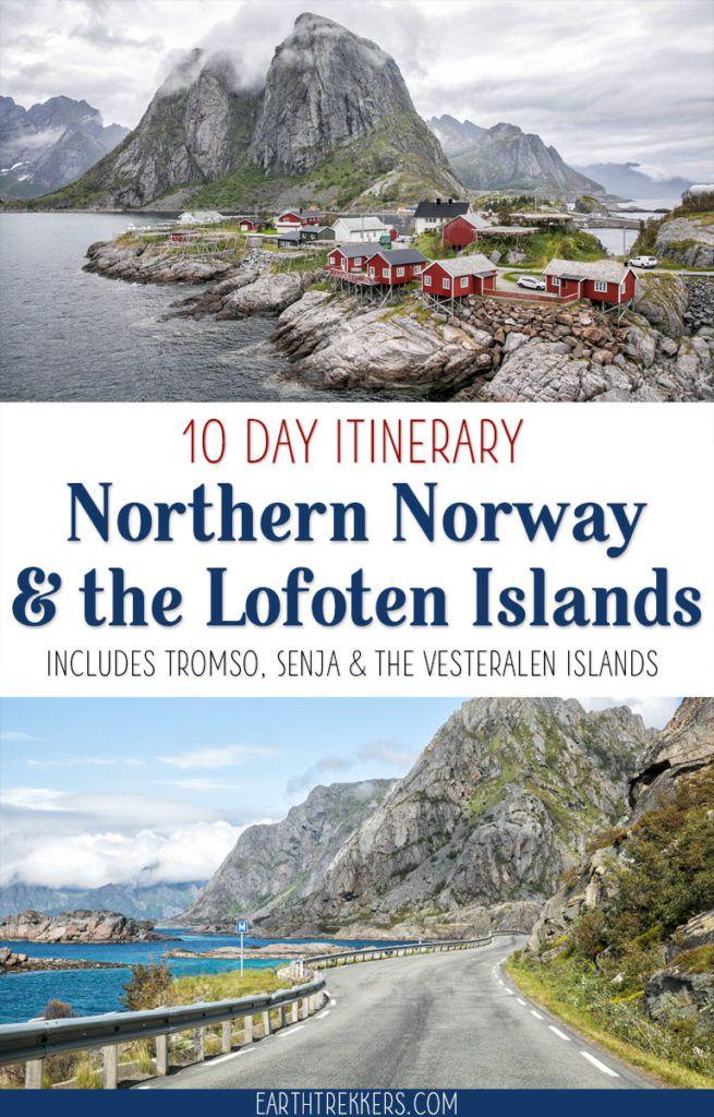 Norway Lofoten Islands Itinerary