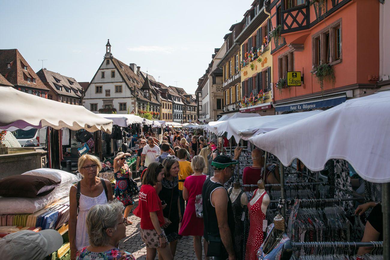Obernai Market