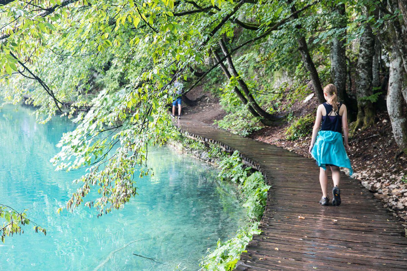 Plitvice Croatia in July