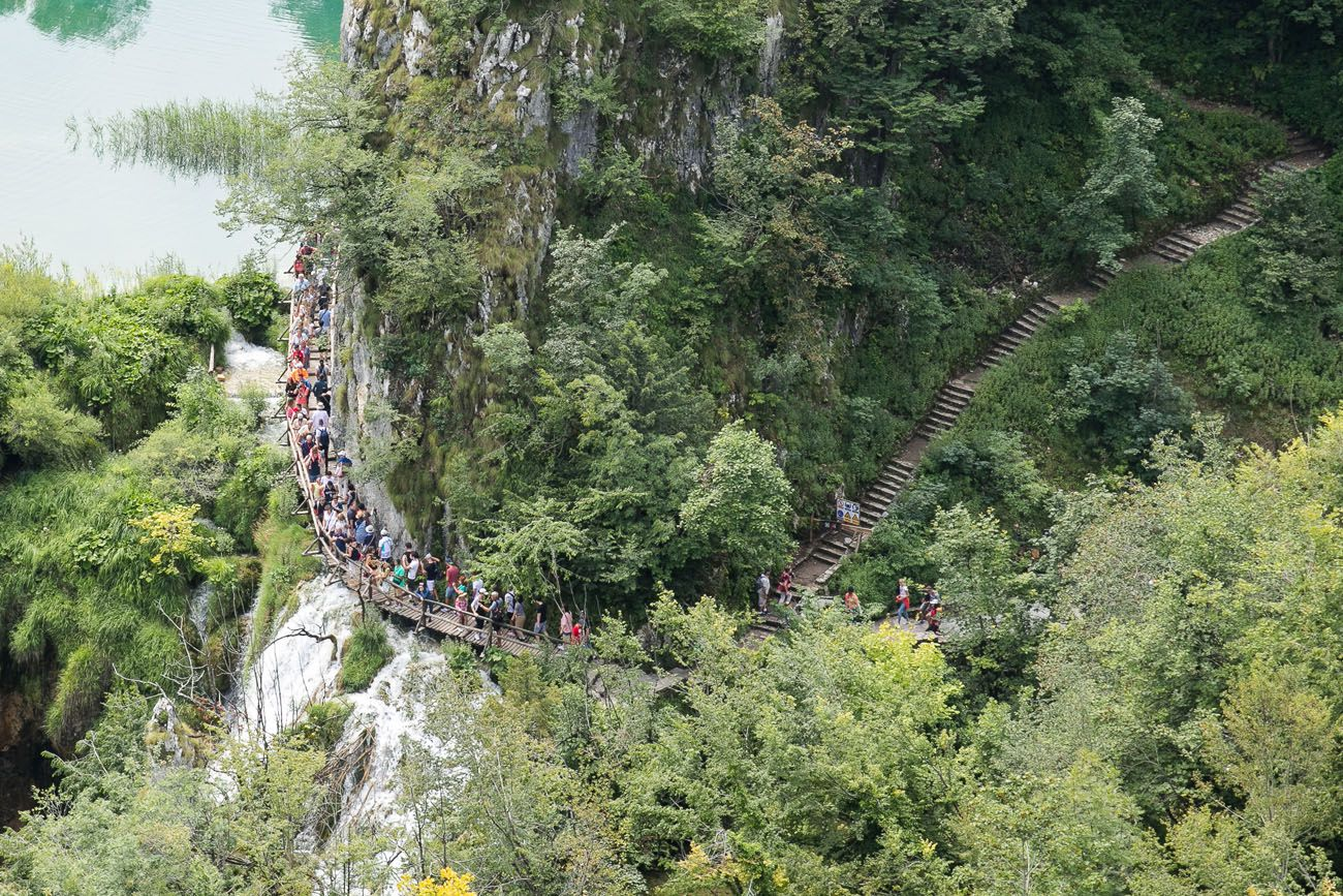 Plitvice Lakes Crowds