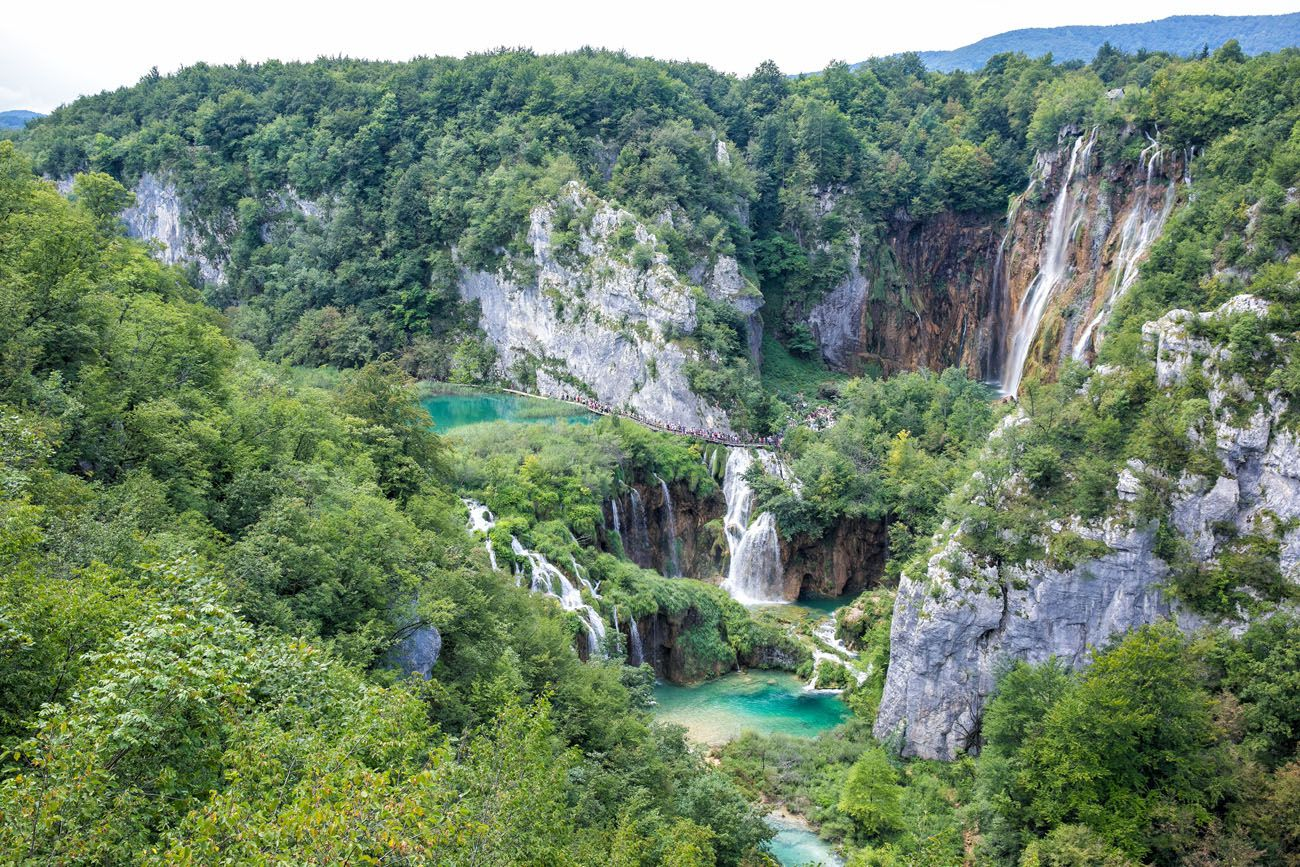 Plitvice Lakes First View