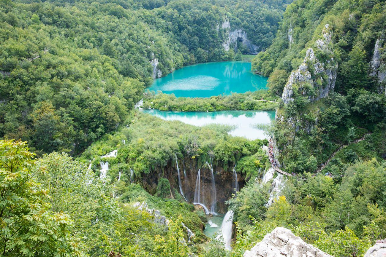 Plitvice Lakes Postcard View