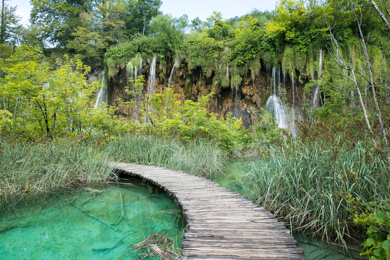 Plitvice Lakes without the crowds