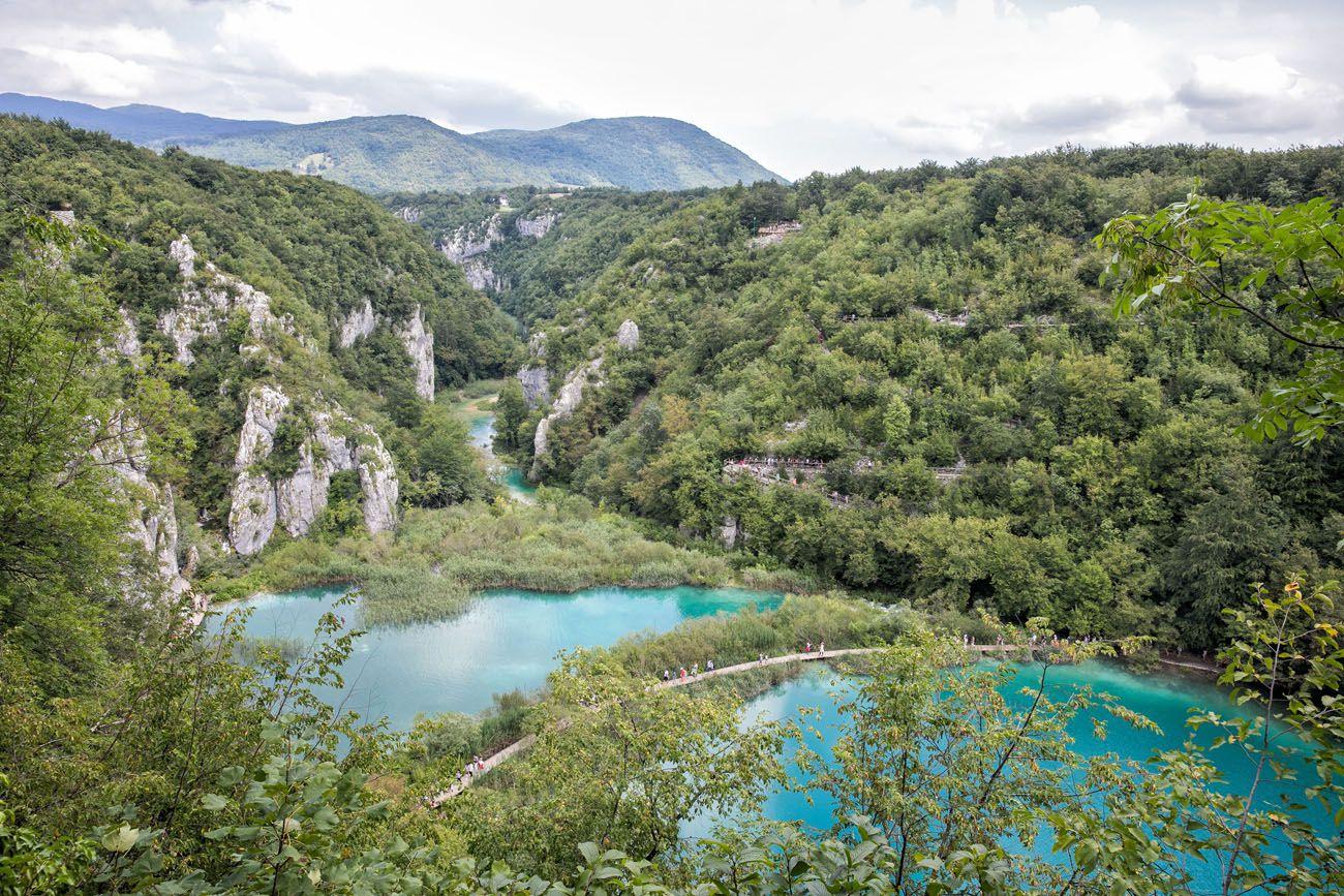 Plitvice View near Veliki Slap