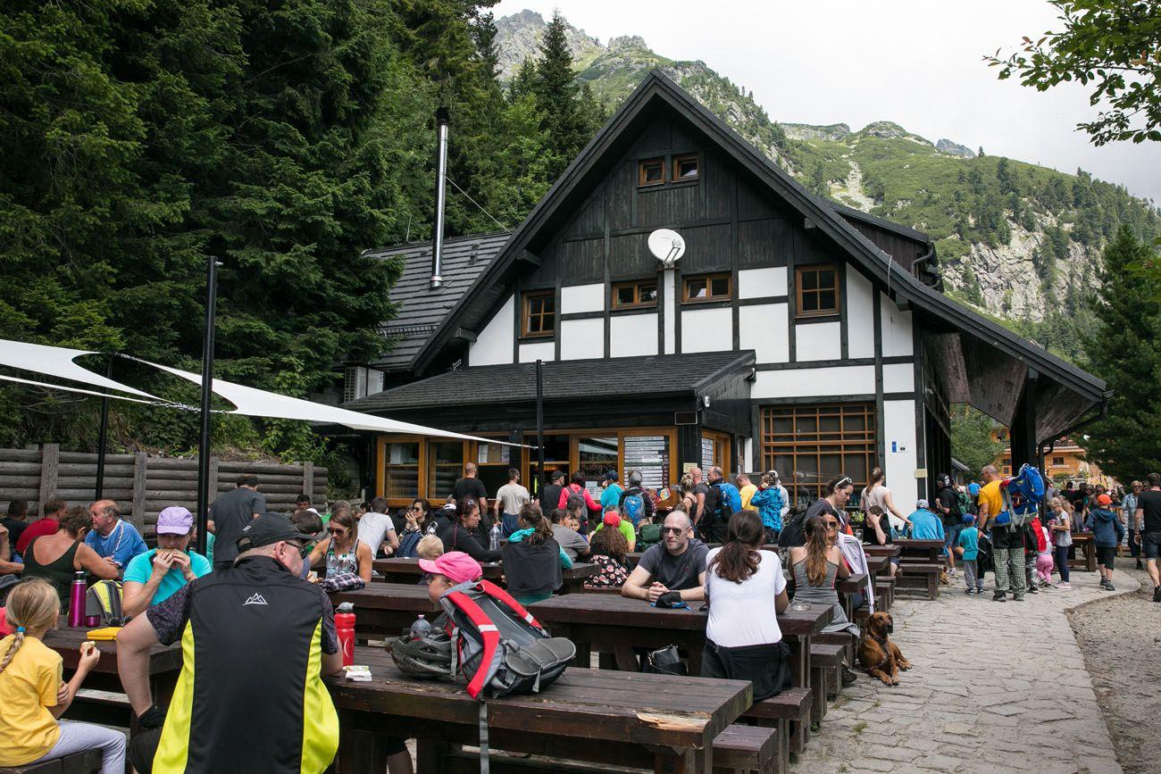 Popradske Pleso Restaurant