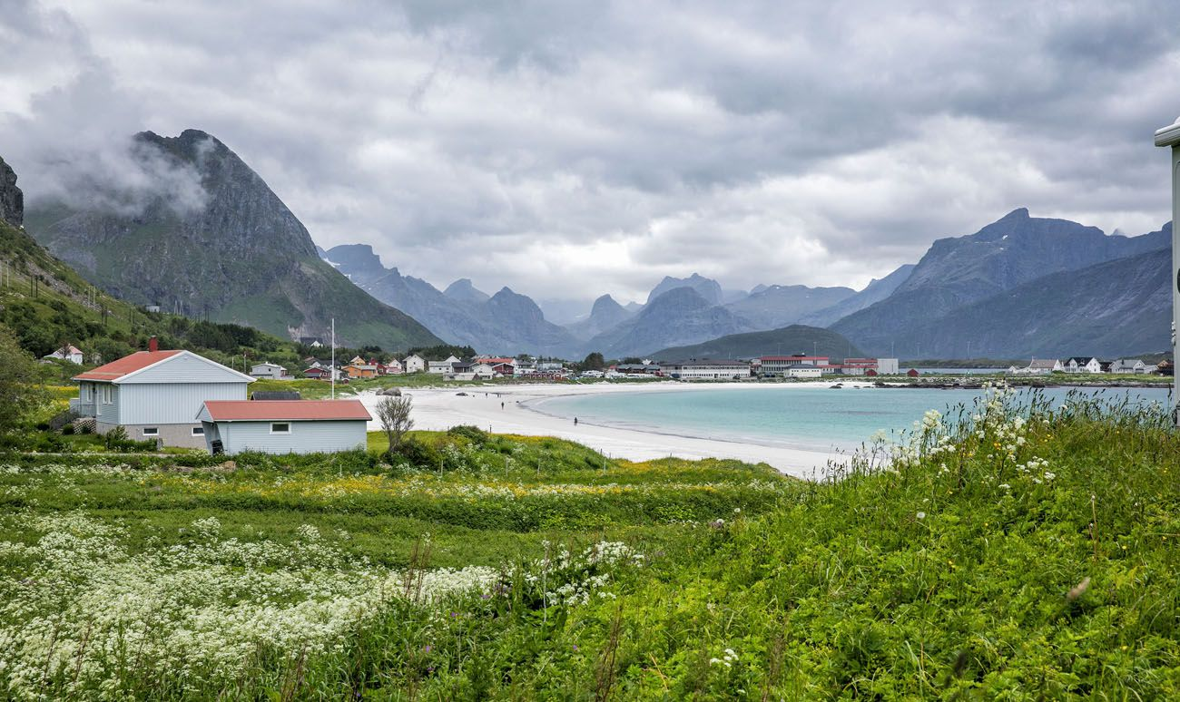 Ramberg Beach northern Norway itinerary