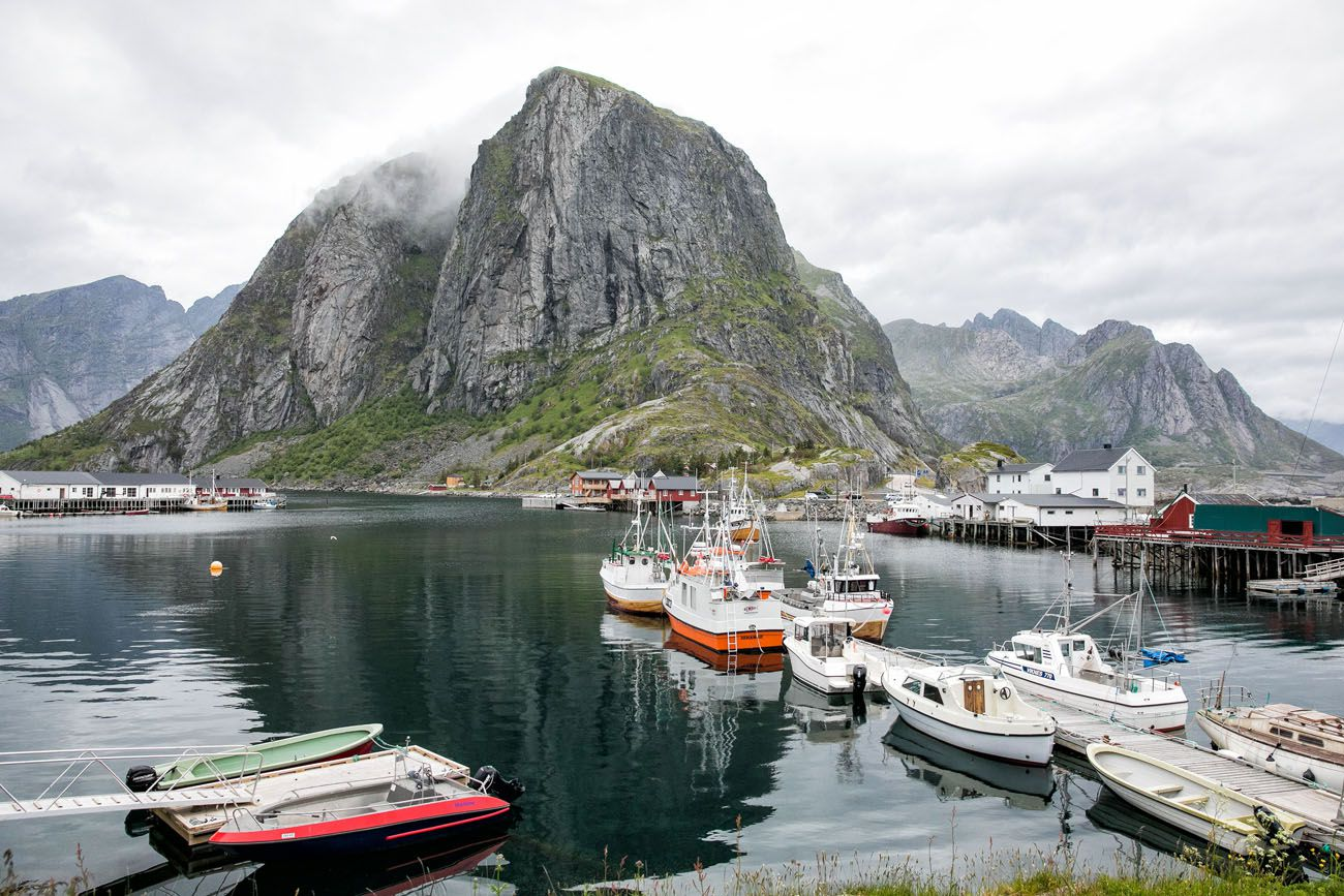 Reine Fishing Boats