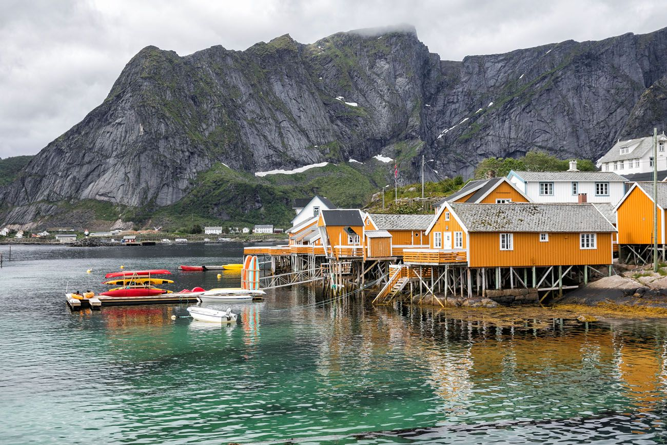 Reine Lofoten Islands