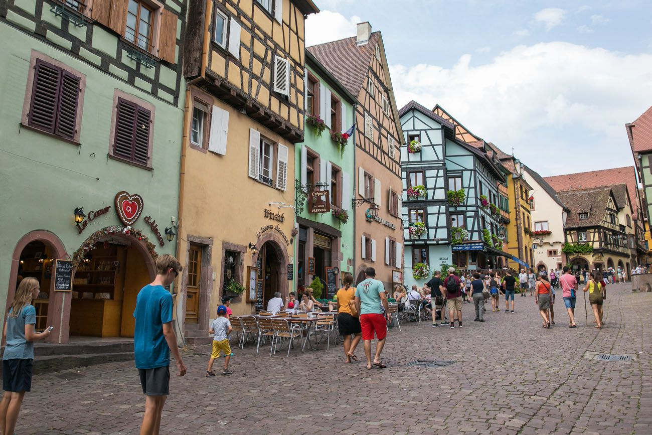 Riquewihr in August
