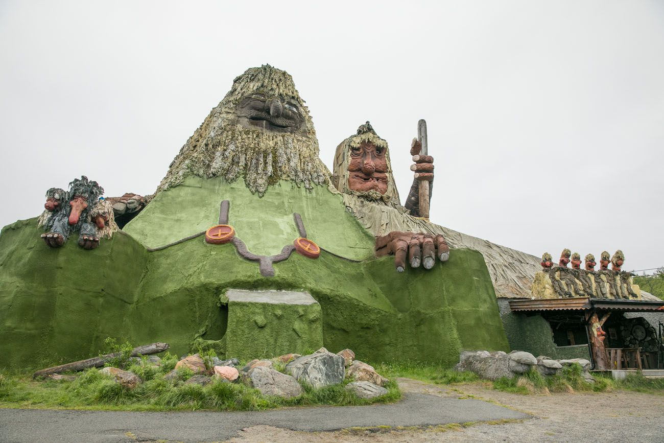 Senjatrollet northern Norway itinerary