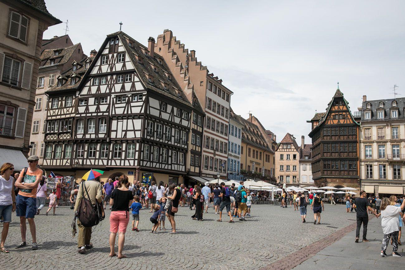 Strasbourg Square Alsace Wine Route
